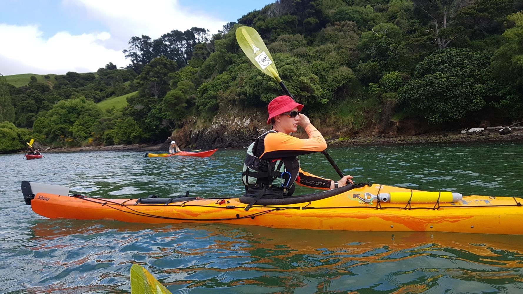 Sunset Sea Kayaking Lyttelton Harbour - Adventure by Nature  Adventure by Nature